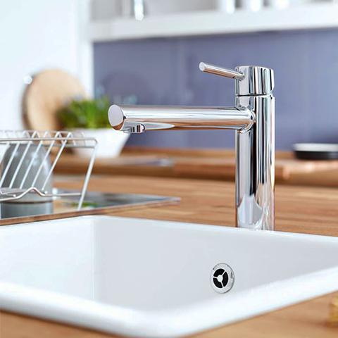 GROHE CONCETTO MEDIUM HIGH SPOUT SINK MIXER